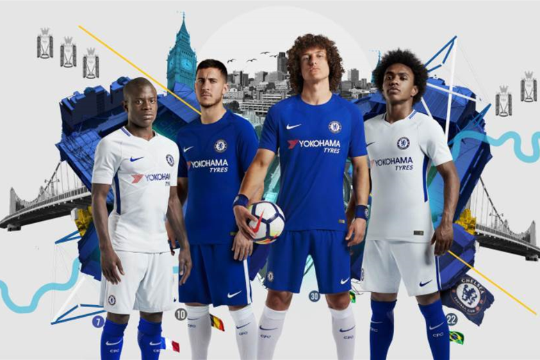 Gallery: Chelsea's 2017-18 home & away kits released