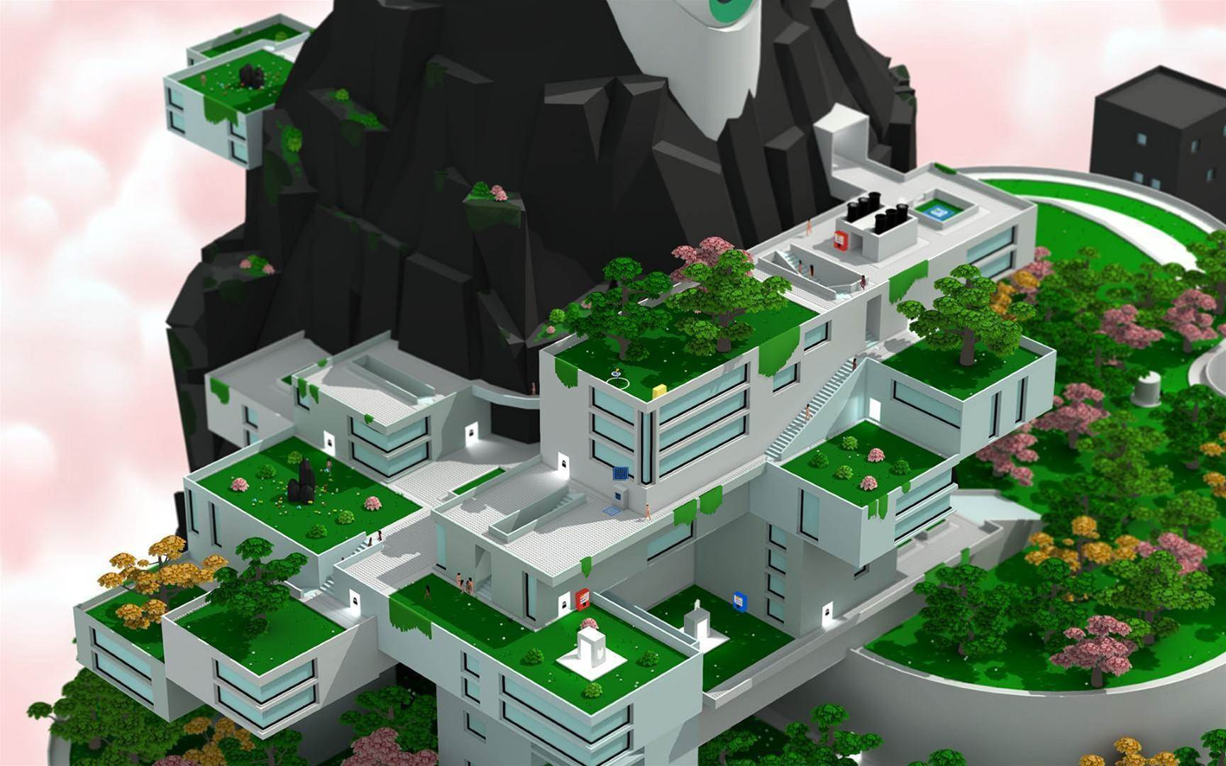 Brightly coloured mayhem in Tokyo 42 screens
