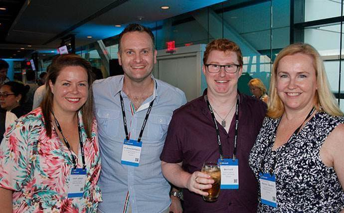 Karl Flammer Ford >> Which Aussies did we spot at Microsoft Inspire 2017 ...