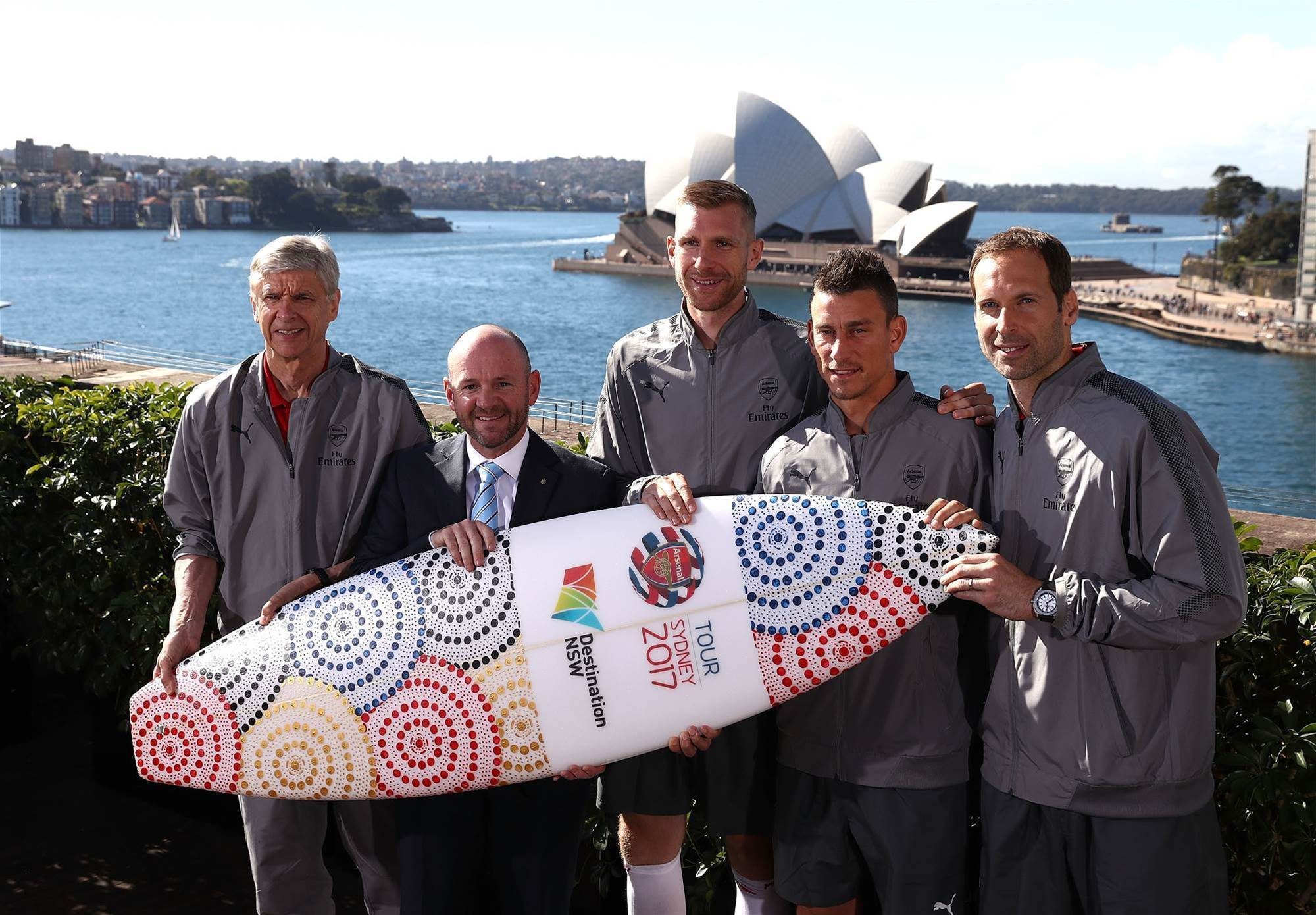 Pic special: Arsenal's first day in Sydney