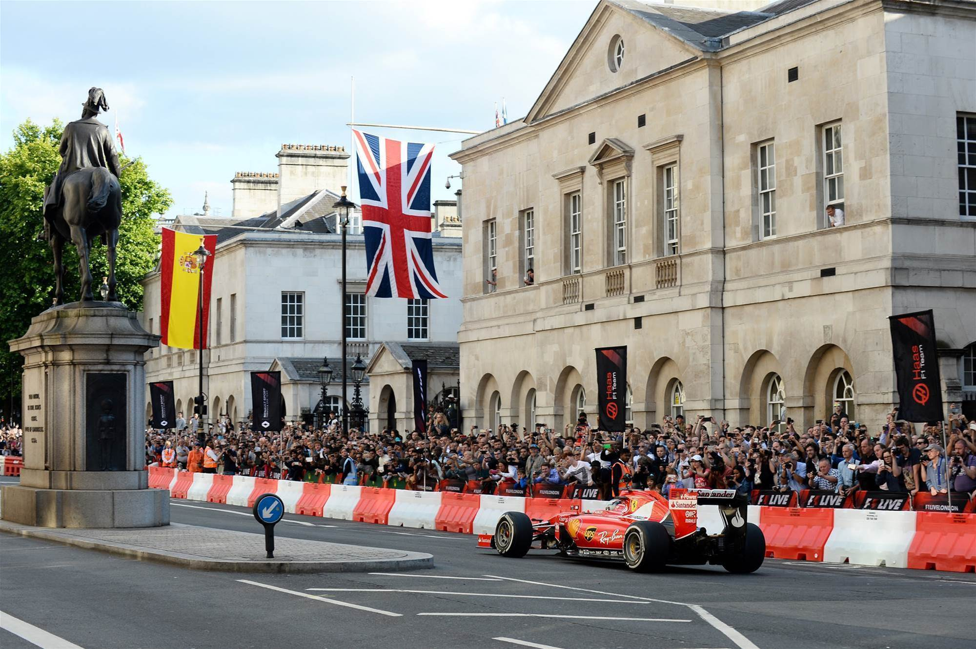 Pic Gallery: F1 Live London