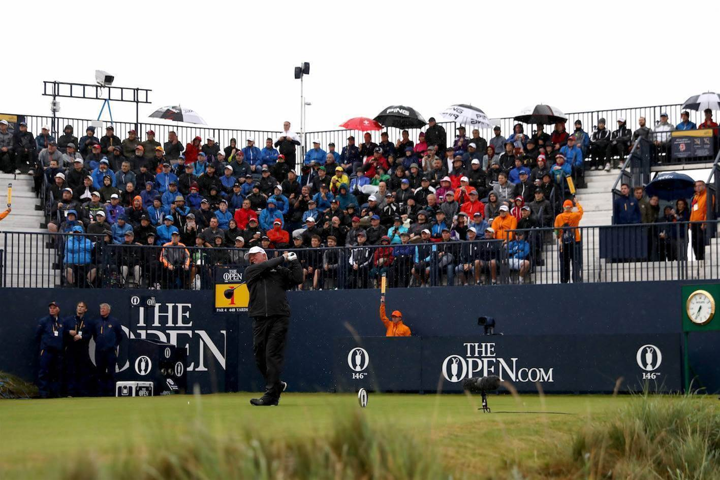 THE OPEN: Best images from round one