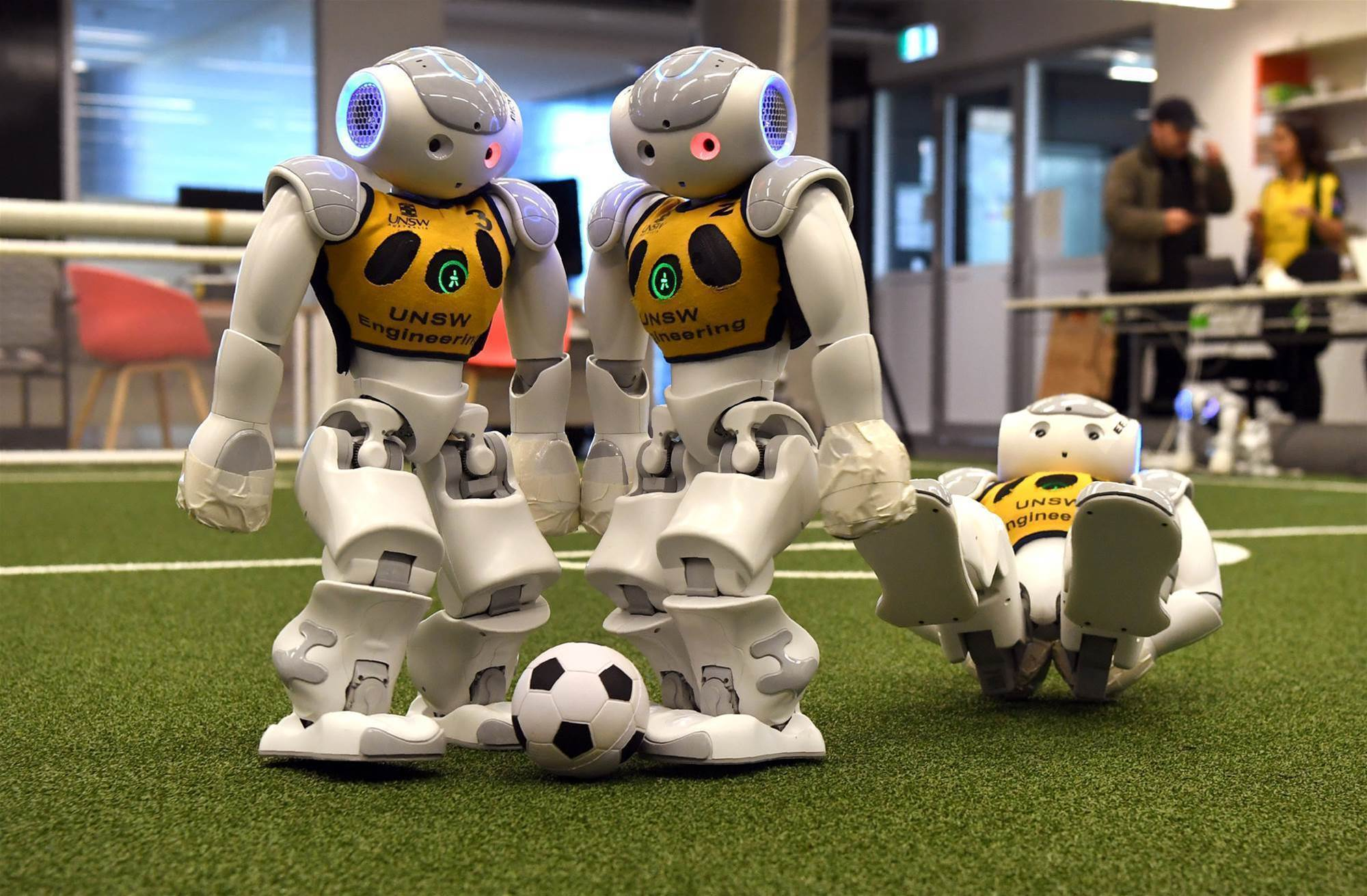 Pic special: Aussies head to RoboCup