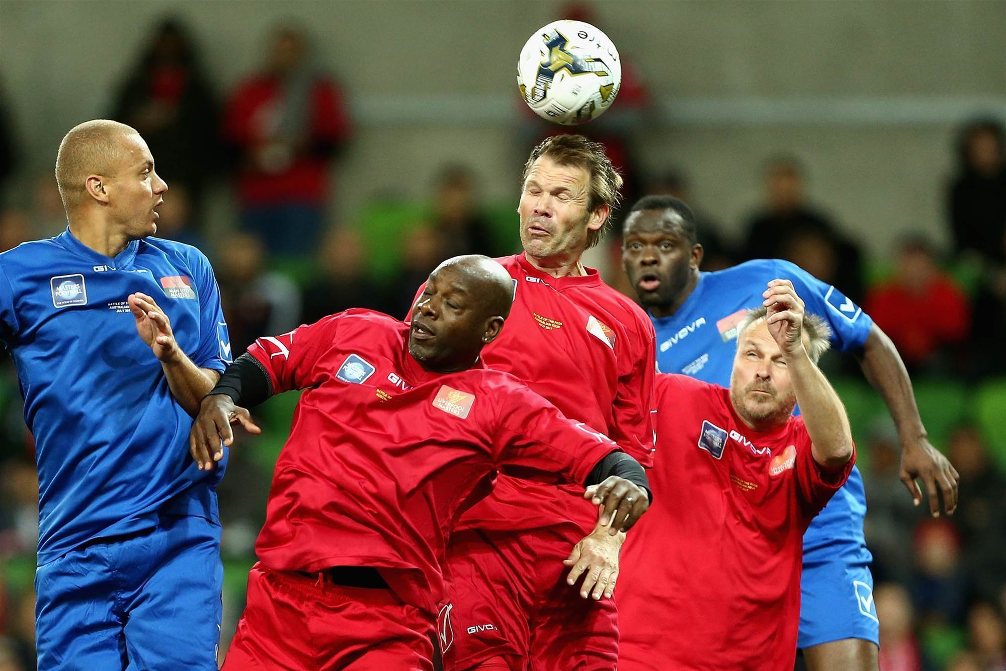 Legends: Liverpool v Manchester United pic special