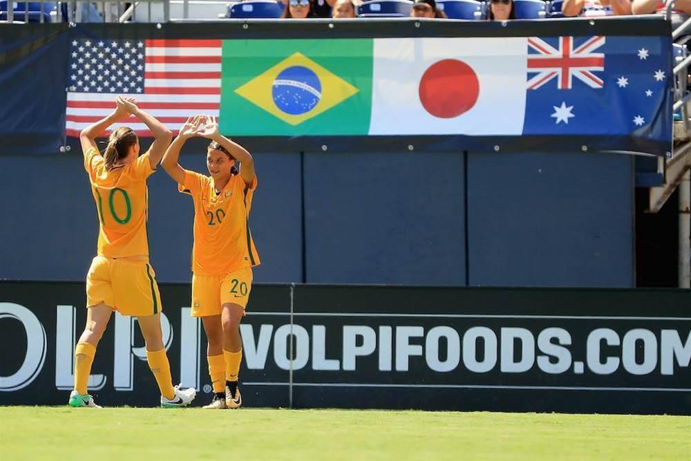 Pic special: Matildas v Japan