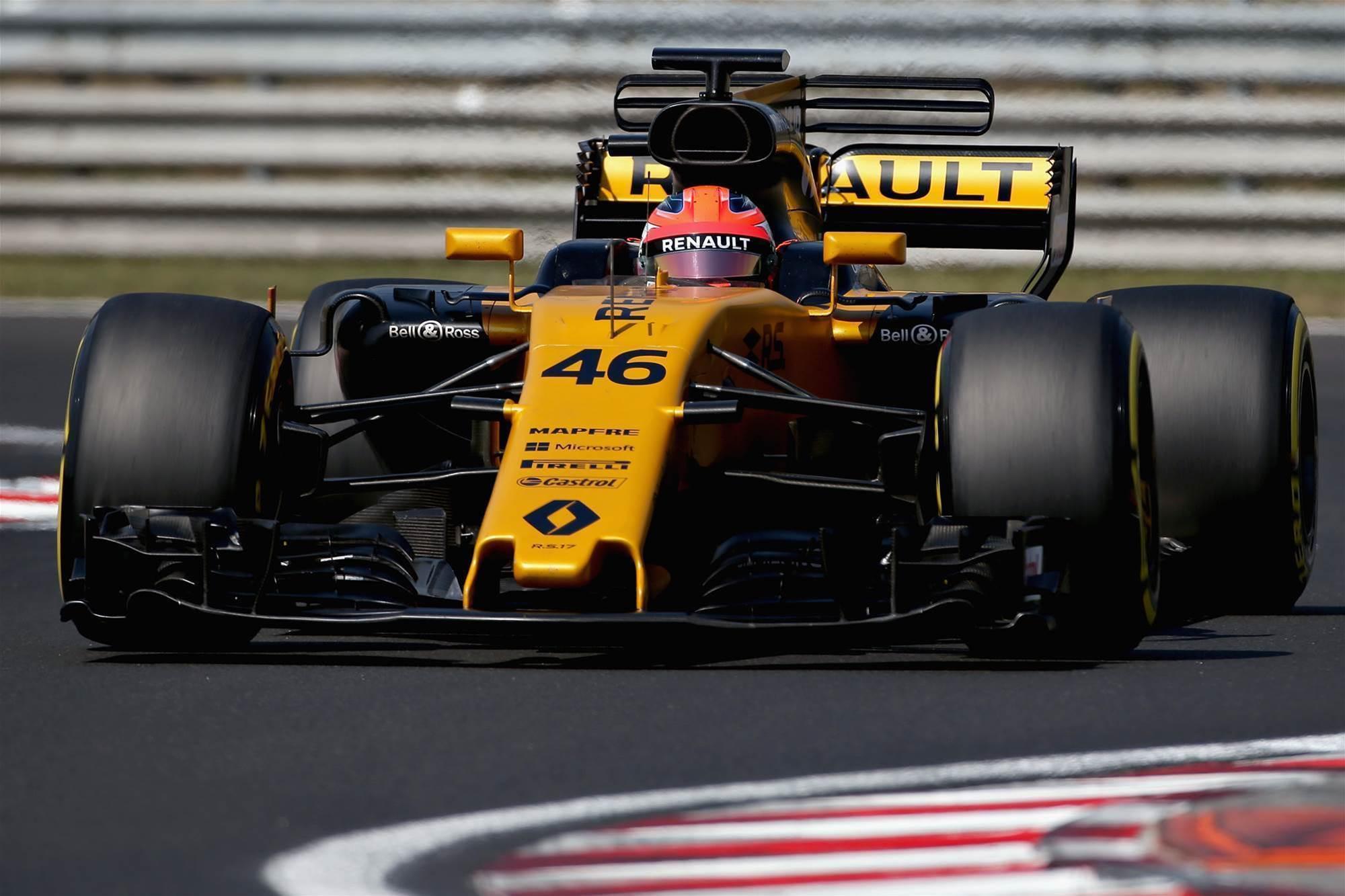 Pic gallery: Robert Kubica's Hungary F1 test