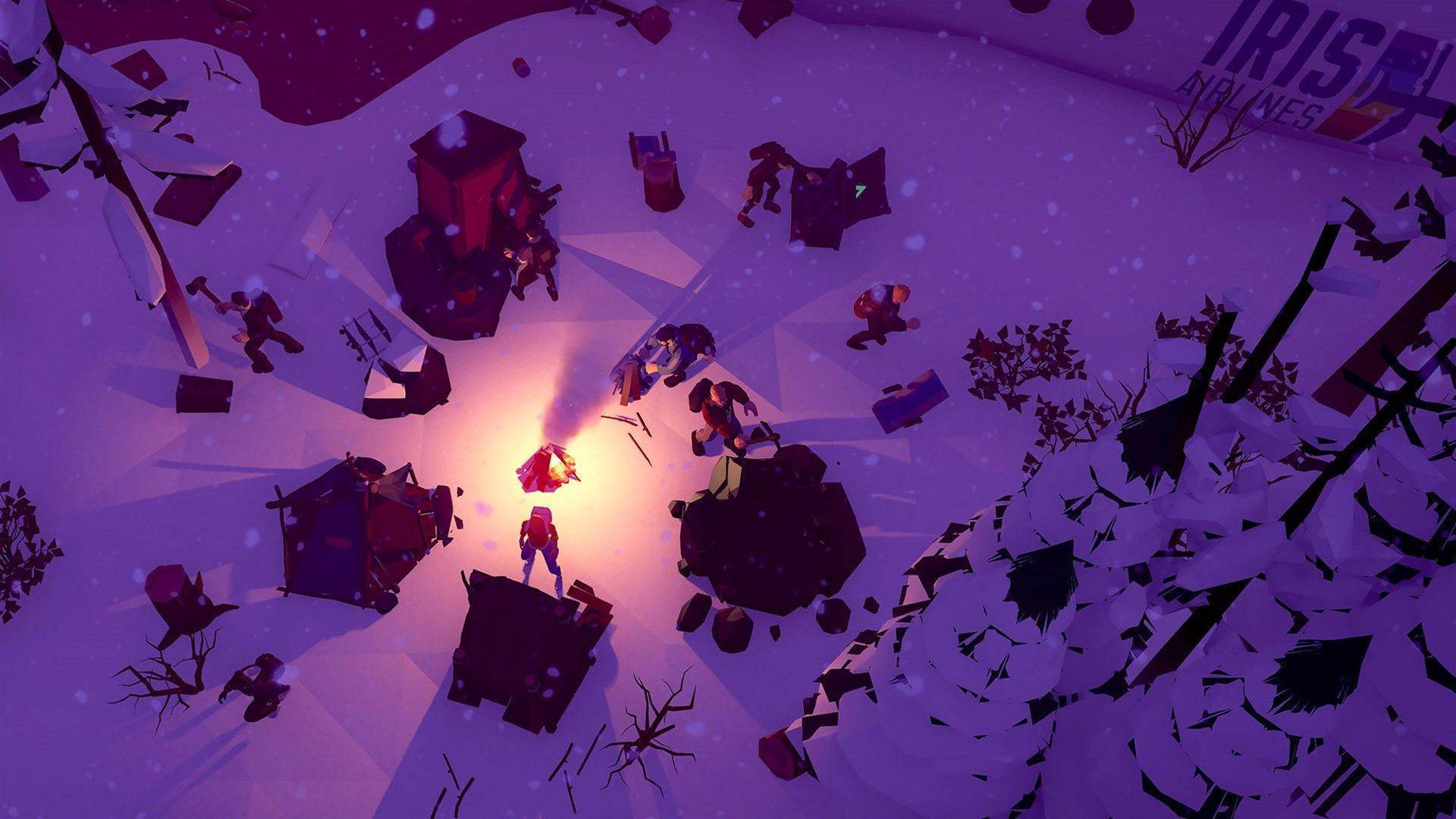 Ice-cold screenshots for Early Access survival game The Wild Eight