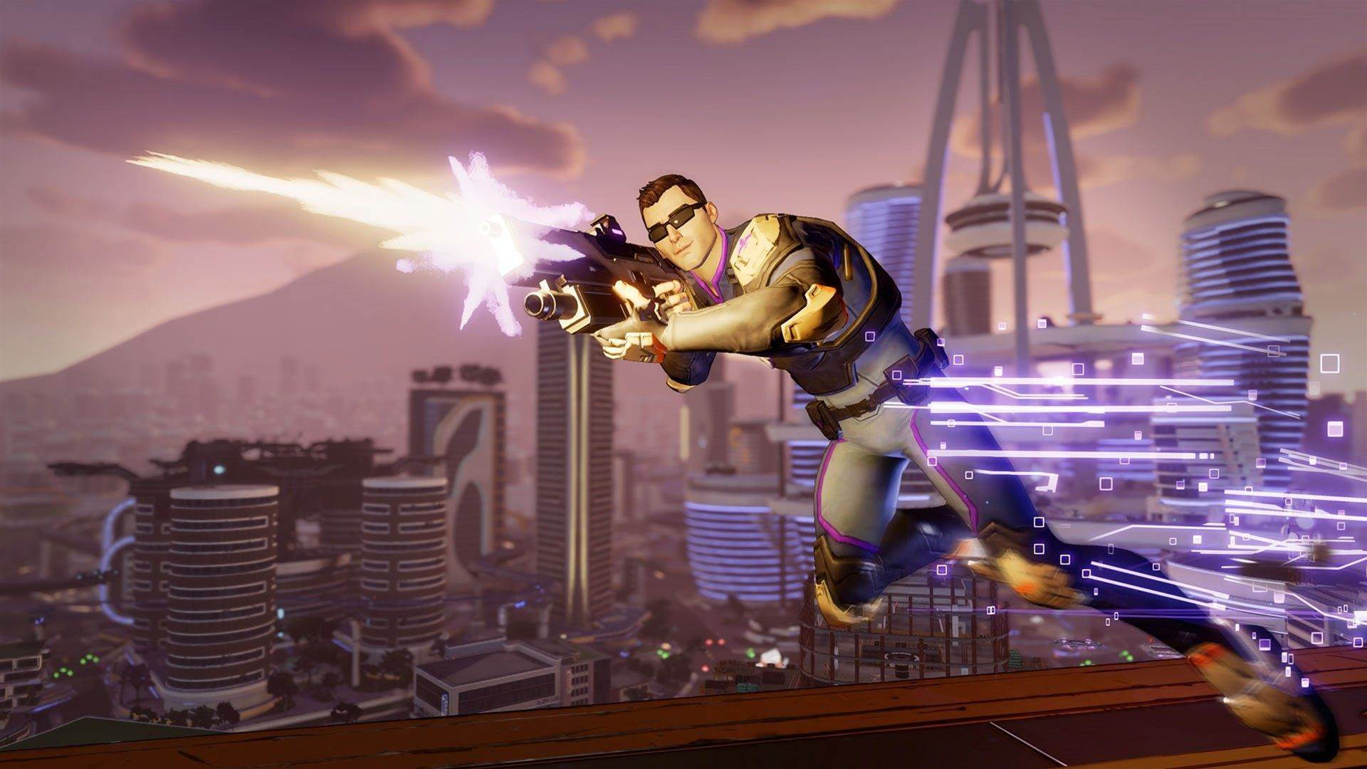 Action-packed screens for Agents of Mayhem