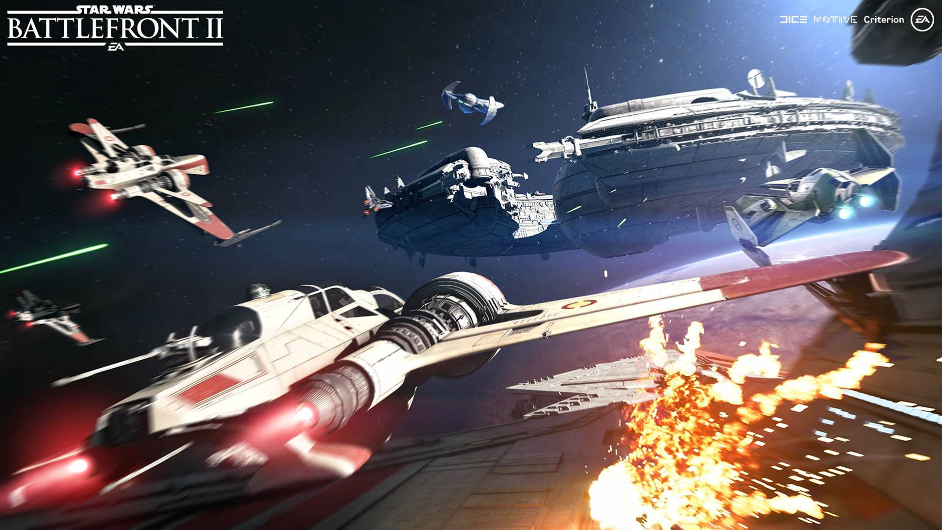 Sweet new Star Wars Battlefront II Starfighter Assault screens