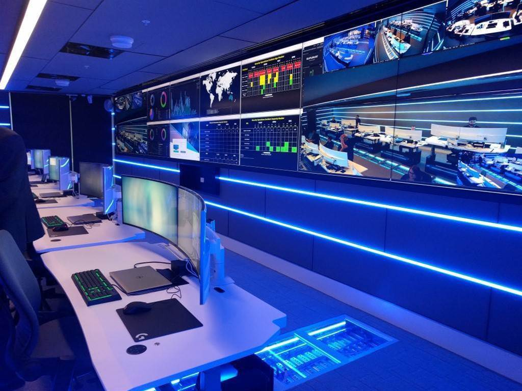 Photos: Inside Telstra's Sydney security operations centre