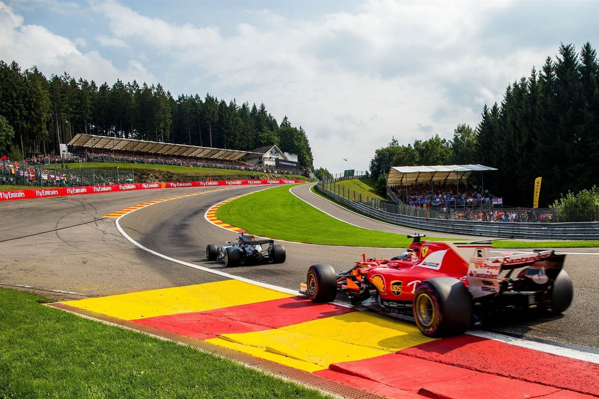 Pic Gallery: Spa-Francorchamps F1