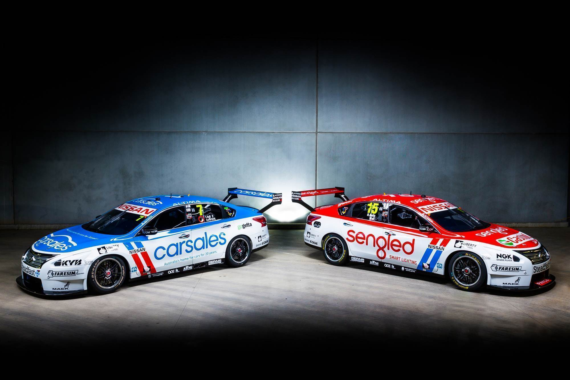 Nissan unveils Supercars retro round liveries