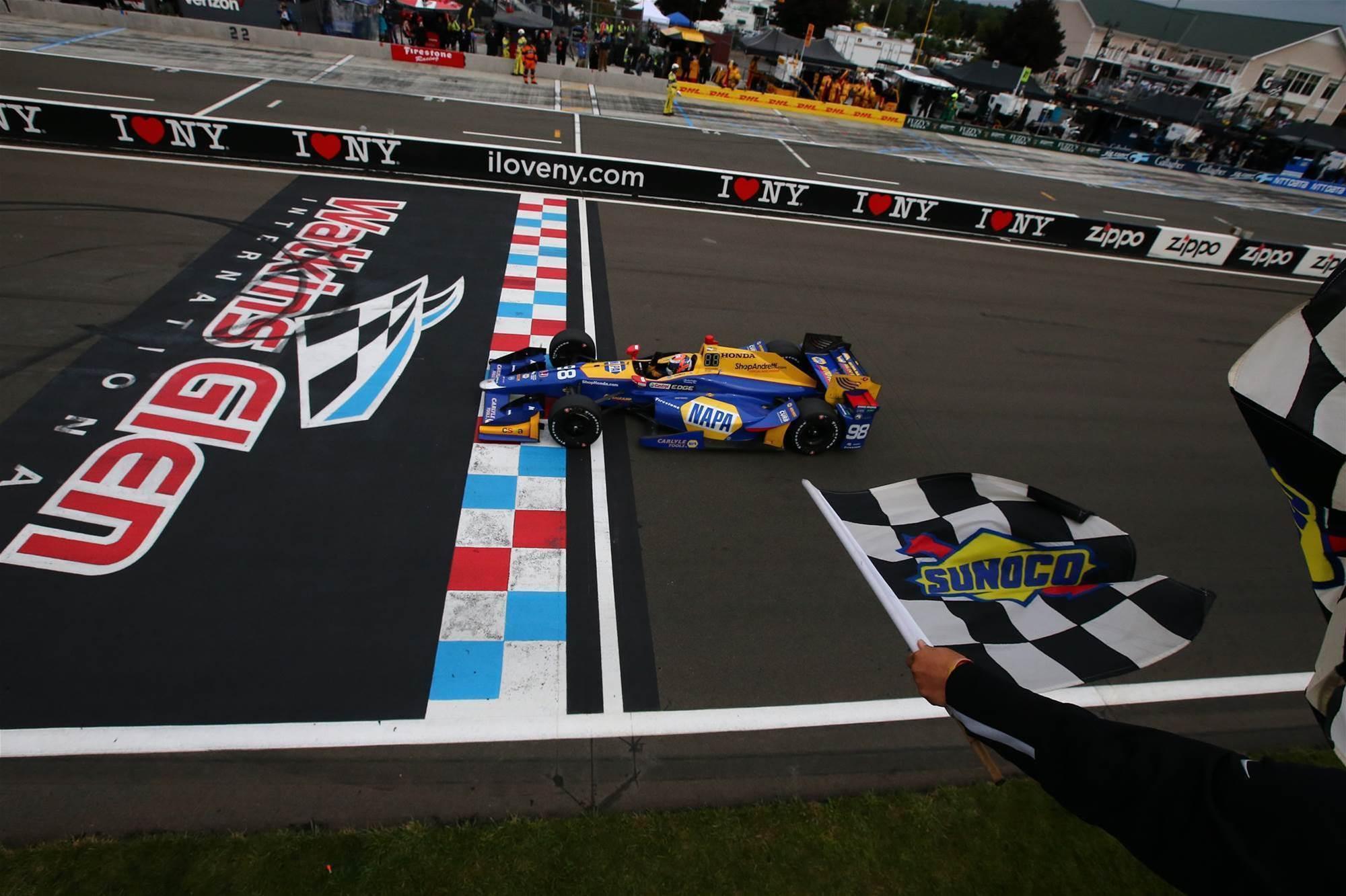 Pic gallery: Watkins Glen Indycars