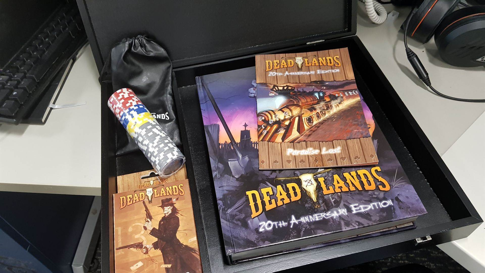 Deadlands 20th Anniversary Edition Kickstarter package