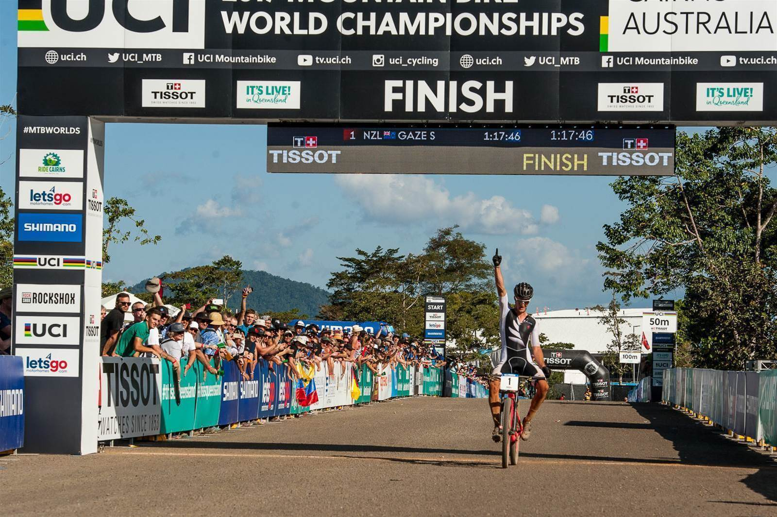 Sam Gaze grabs his 2nd U23 XCO World Title