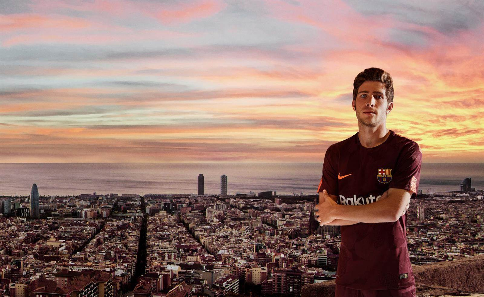 Barcelona launches new dark maroon kit