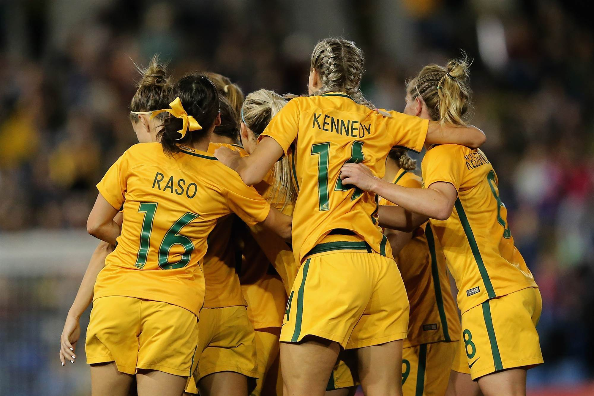 ON THE SIDELINES: MATILDAS V BRAZIL PIC SPECIAL