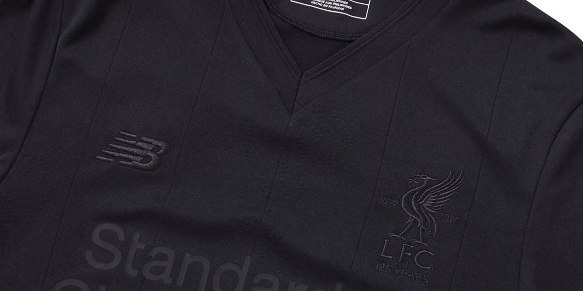 Gallery: New Liverpool 'Pitch Black' shirt