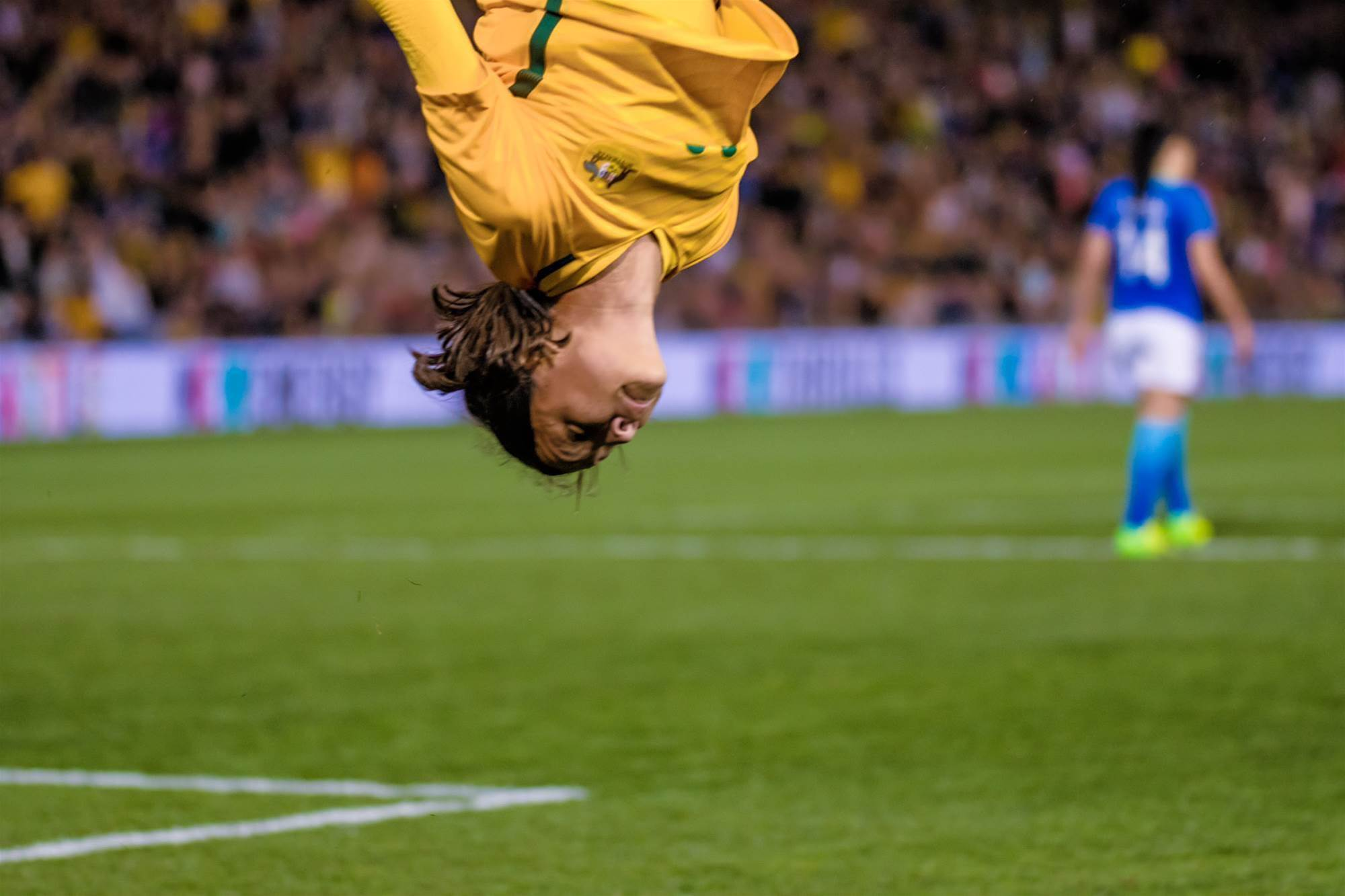 On the sidelines: Massive Matildas pic special