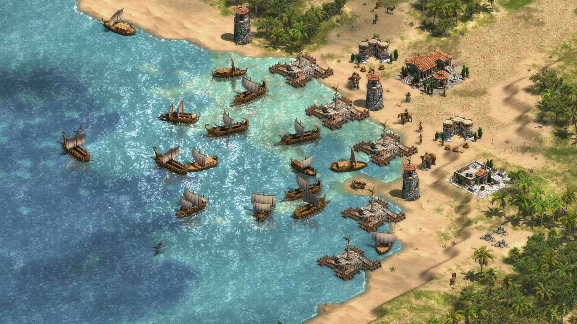 Epoch-defying Age of Empires Definitive Edition screens