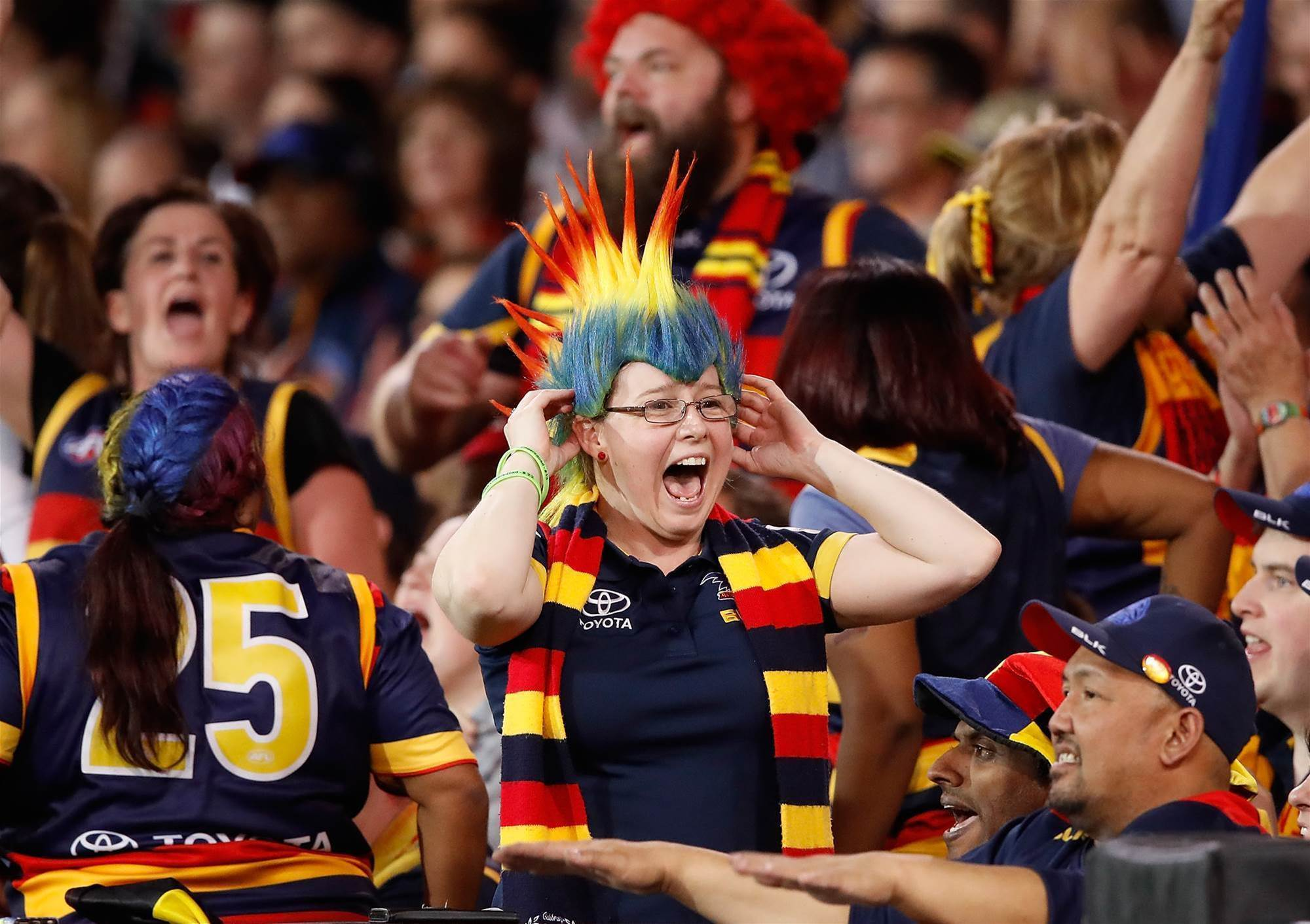 Gallery special: Fans at the AFL finals