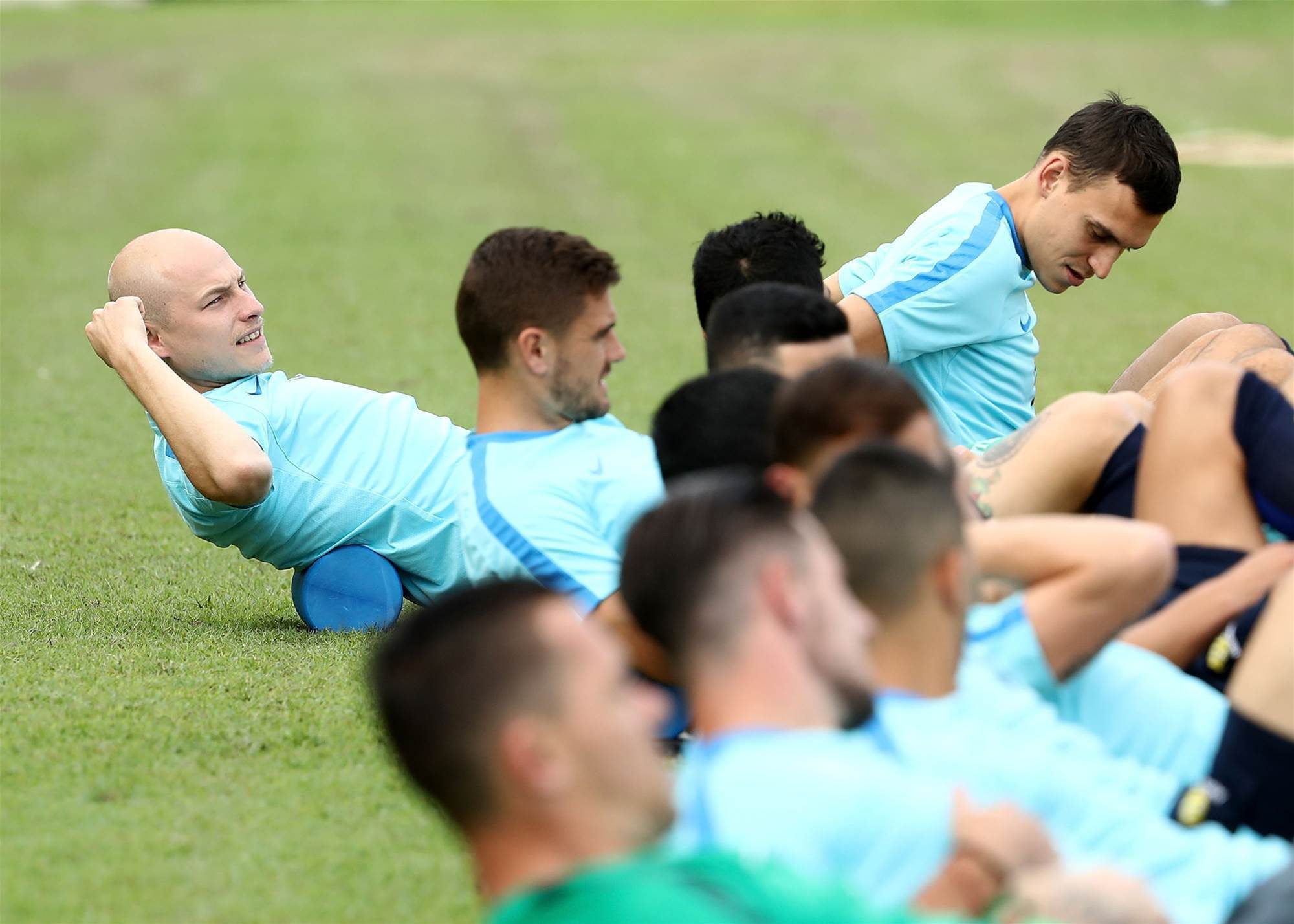 Pic special: Socceroos training session
