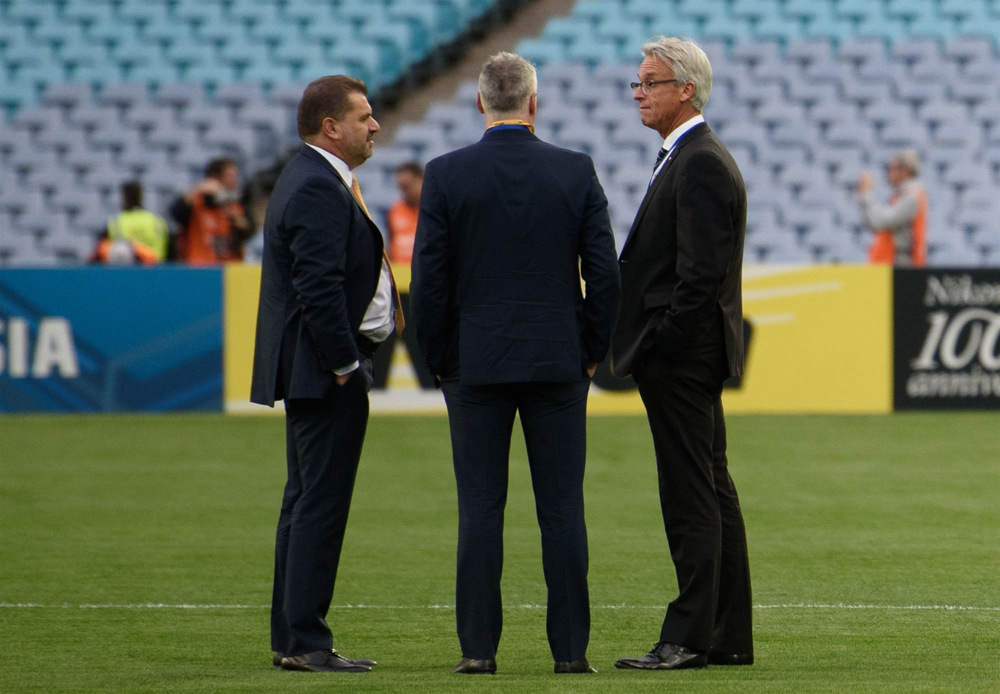 ON THE SIDELINES: Epic Socceroos pic gallery