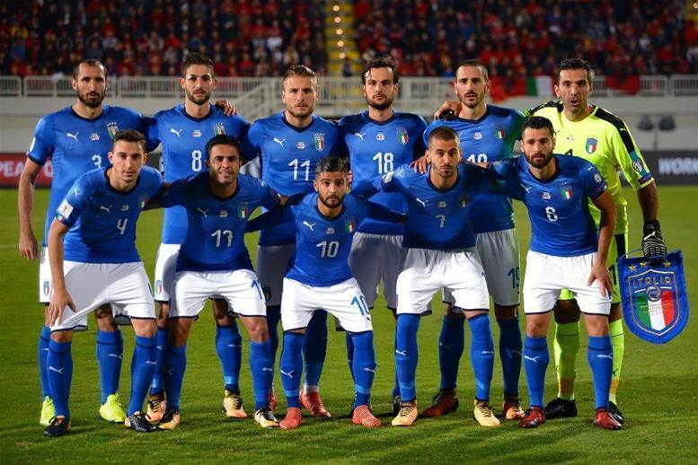 Gallery: Italy's new national team kit