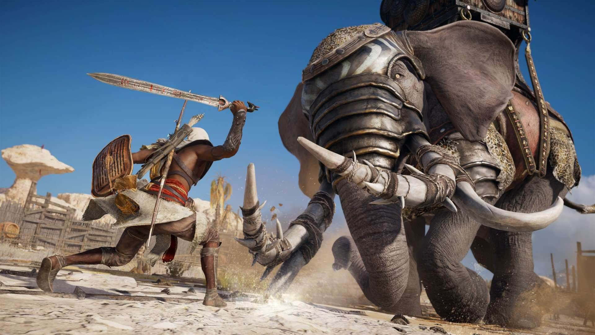 Legendary screenshots for Assassin's Creed Origins