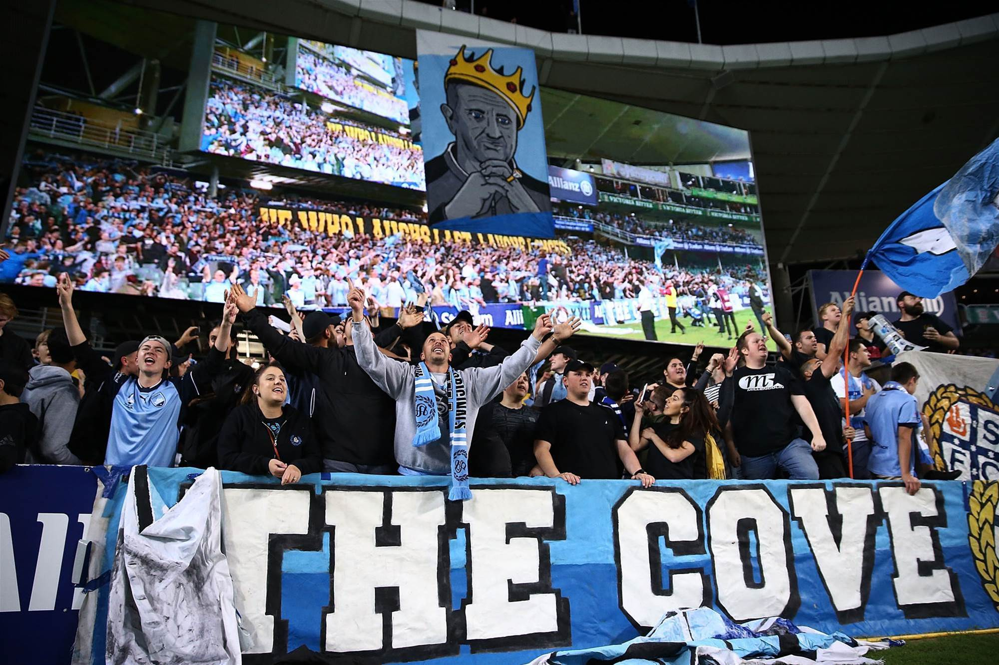 Gallery: Sydney Derby in The Cove
