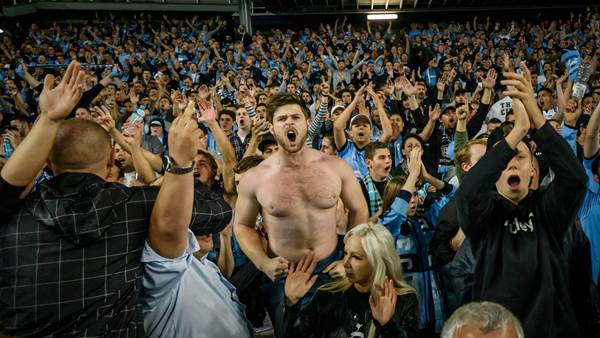 ON THE SIDELINES: Epic Sydney Derby gallery