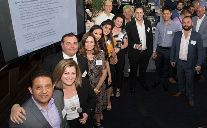 StorageCraft resellers socialise in Sydney for pre-Christmas party