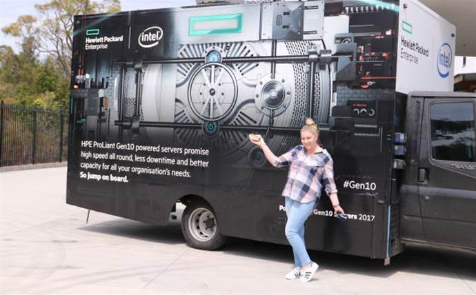 HPE distributors celebrate Gen10 with food on the go