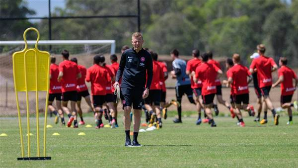 PIC SPECIAL: Josep Gombau's first day at Western Sydney Wanderers