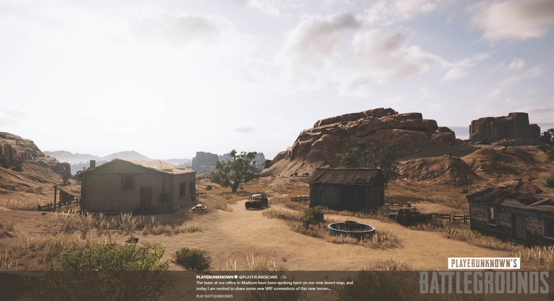 New shots of PlayerUnknown's BattleGrounds' upcoming second map