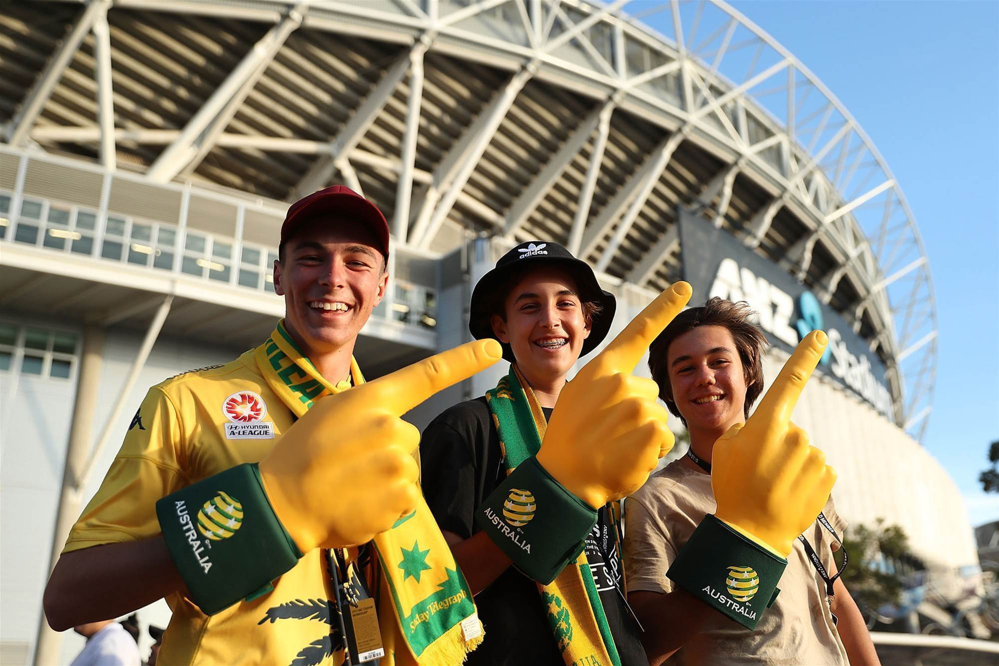 Pic special: Fans fire up at ANZ
