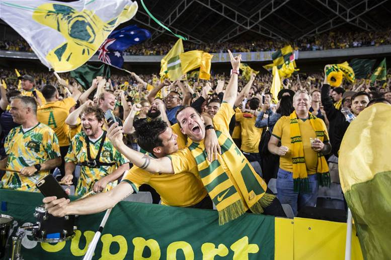 Gallery: Socceroos fans rejoice in World Cup qualification
