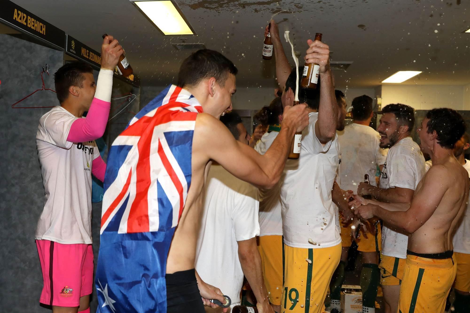 Cue delirium! Socceroos, fans celebration pics