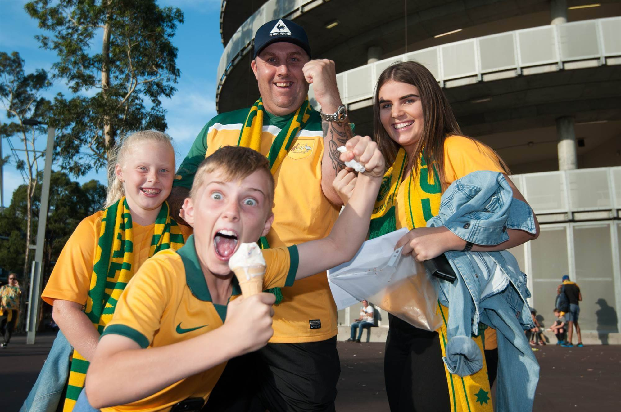 ON THE SIDELINES: Oh, what a night! Mega Socceroos pic special