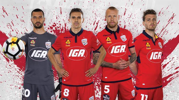 Your A-League club's kits for 2017/18