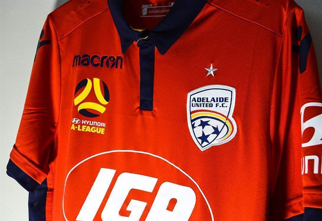 Up close with Adelaide United's new Macron kit