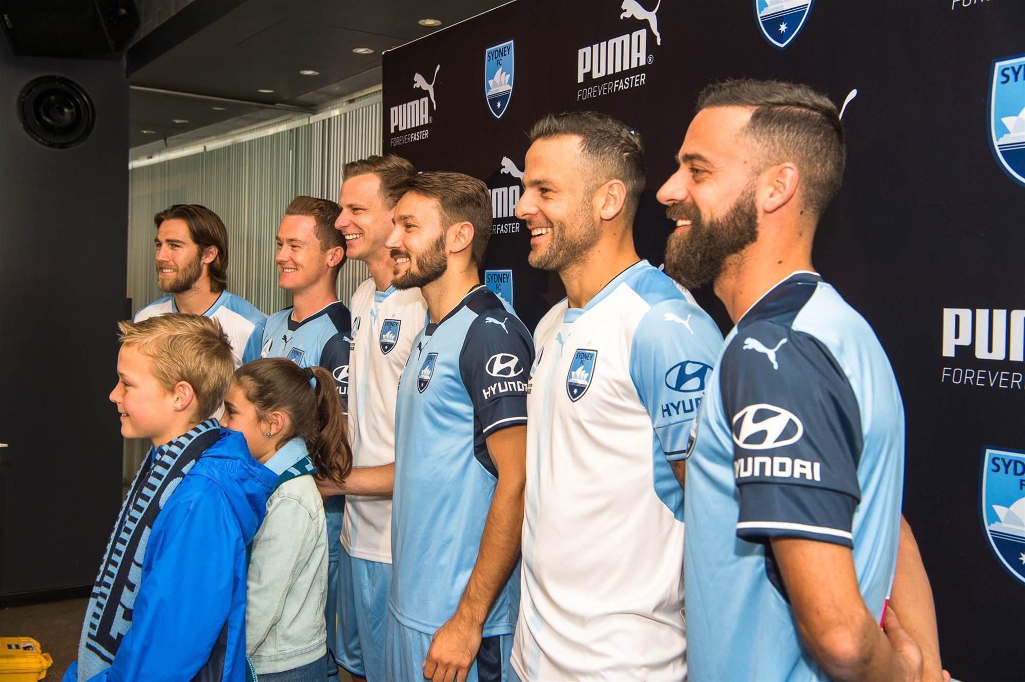 Sydney FC unveils new kit