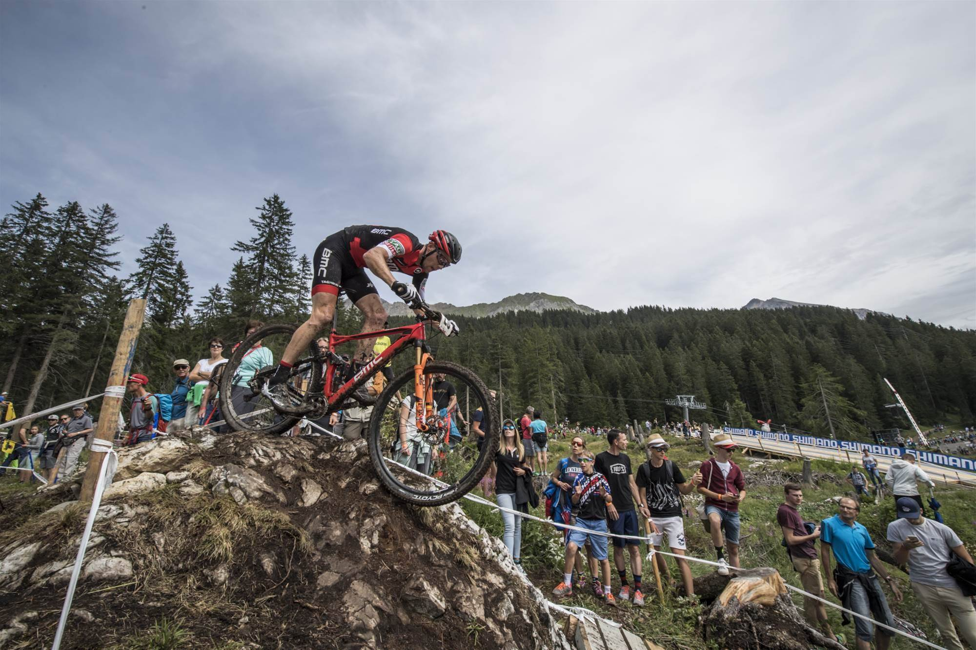 High drama at Lenzerheide World Cup