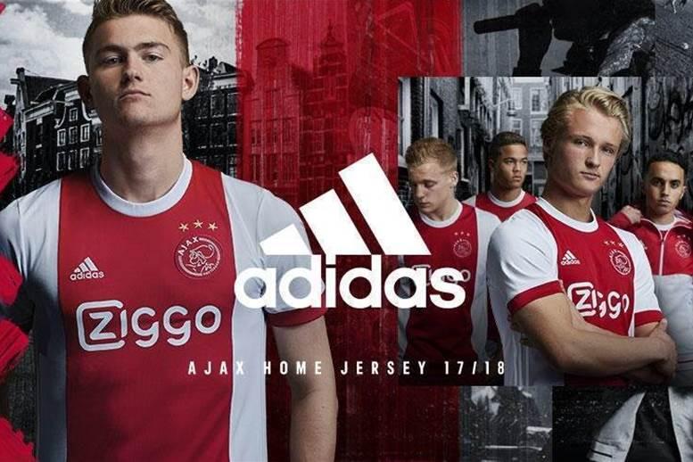 Ajax's 2017-18 home kit released
