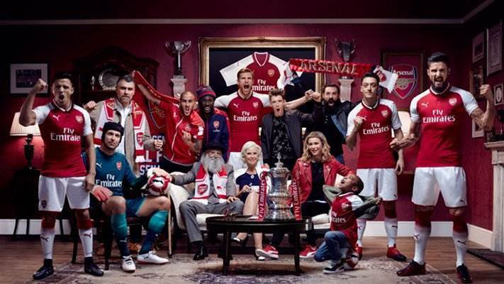 Gallery: Arsenal's 2017-18 home kit released
