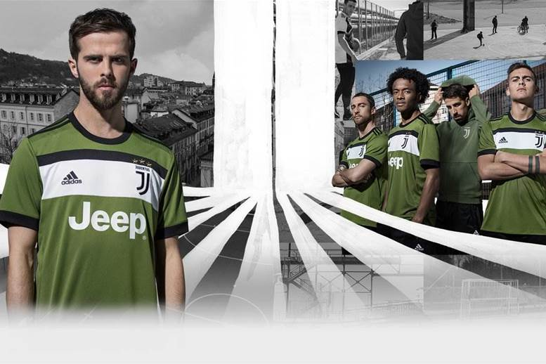 New green Juventus kit designed by fans