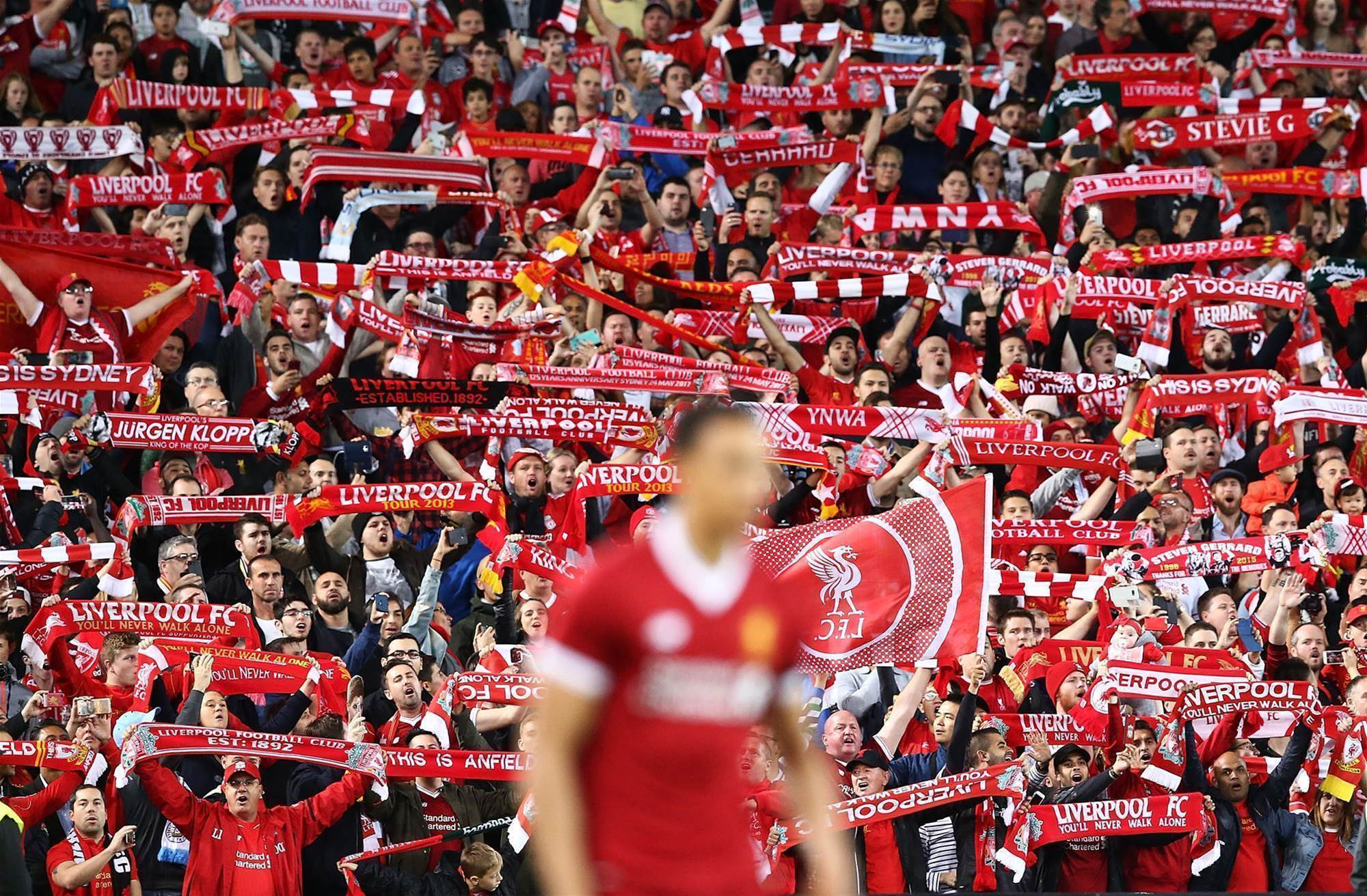 Gallery: Liverpool comes to Sydney
