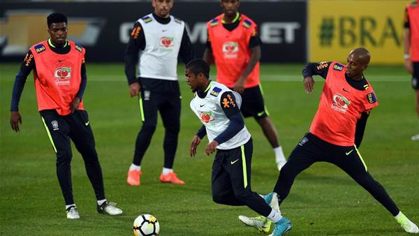 Pic special: Brazil's final training session