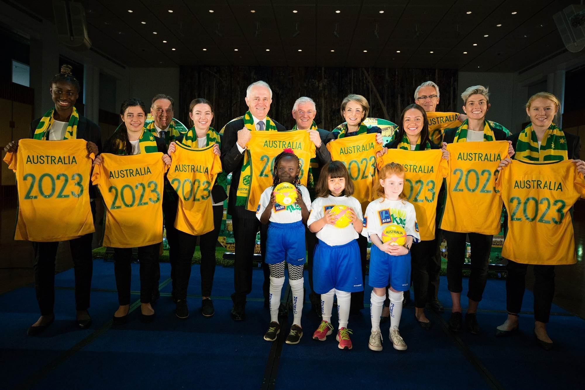 Pic special: 2023 Women's World Cup bid launched
