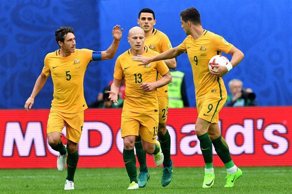Pic special: Australia v Cameroon